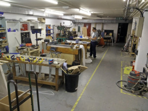 Main Workshop Area