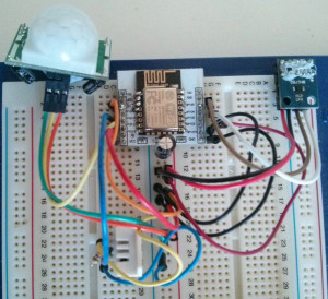 Burnell Bot Breadboard