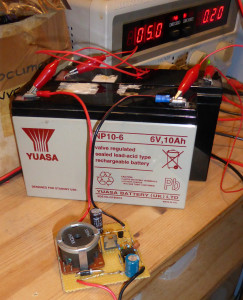 Battery Resuscitation through Desulfation