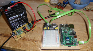 An uninterruptible power supply for the Raspberry Pi