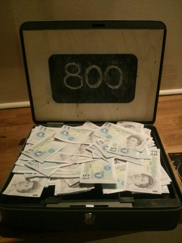 Sheff Soup Case of Money