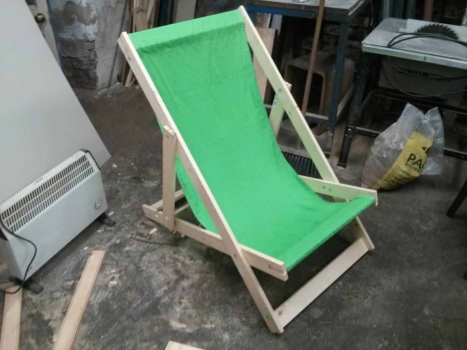 Deckchair finished